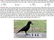 Thú vị chuyện  ' Con quạ thông minh '  vào đề thi toán