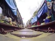"""Khám phá khu chợ  """" cận kề sự sống và cái chết """"  nổi tiếng tại Thái Lan"""