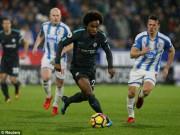 TRỰC TIẾP Huddersfield - Chelsea: Bàn thắng dễ dàng, chủ nhà vỡ trận