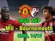 Chi tiết MU - Bournemouth: Thót tim đá phạt phút bù giờ (KT)
