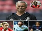 Mourinho nổi điên, MU hụt 3 sao bự: Tháng 1 mua Cavani, Bale, Griezmann?
