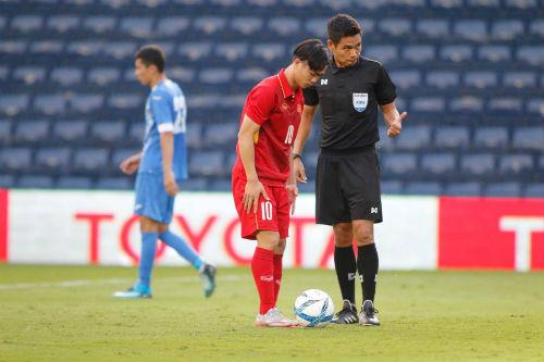 """Chi tiết U23 Việt Nam - U23 Uzbekistan: Quang Hải không thể tạo """"phép màu"""" (KT) - 8"""