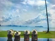 """"""" No mắt """"  ngắm bộ ảnh du lịch Thái Lan của dàn thiên thần Victoria Secret"""