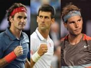 Nadal, Federer, Djokovic thống trị 47 Grand Slam: Tại  đám trẻ  chưa lớn