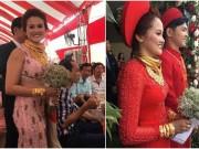 """3 đám cưới ngập trong vàng từng  """" gây bão """"  năm 2017"""