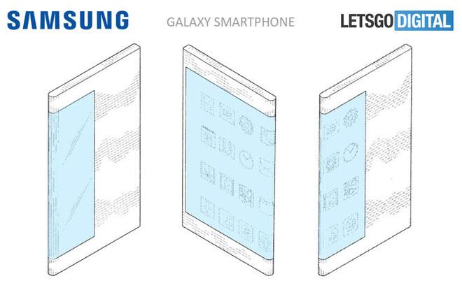 Samsung tung bản phác thảo Galaxy X màn hình gập quá đẹp - 1