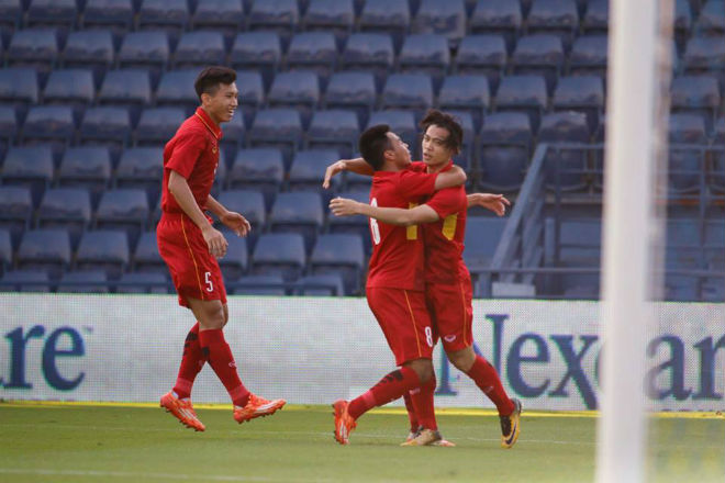 U23 Việt Nam đả bại Thái Lan: Công Phượng tỏa sáng 2 bàn, hay nhất trận - 3