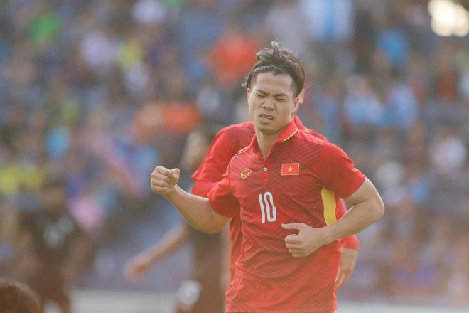 U23 Việt Nam đả bại Thái Lan: Công Phượng tỏa sáng 2 bàn, hay nhất trận - 4