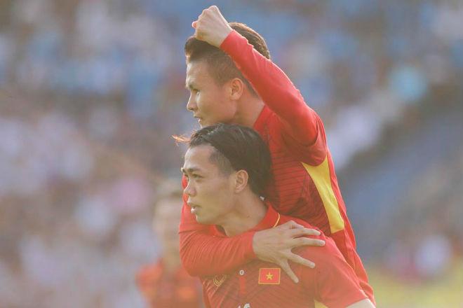 U23 Việt Nam đả bại Thái Lan: Công Phượng tỏa sáng 2 bàn, hay nhất trận - 6