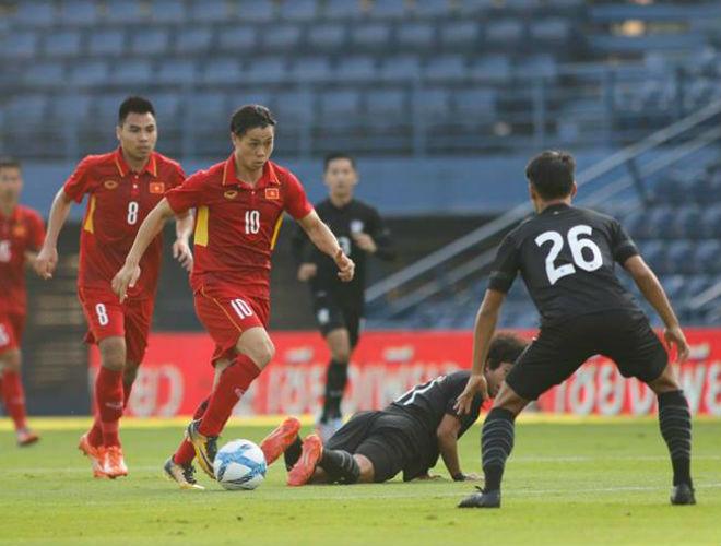 U23 Việt Nam đả bại Thái Lan: Công Phượng tỏa sáng 2 bàn, hay nhất trận - 2