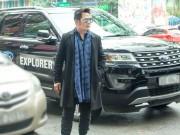 Bằng Kiều được đưa đón bằng siêu xe Ford Explorer đi show  Để nhớ một thời ta đã yêu