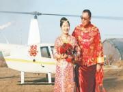 Lý do khiến chú rể chịu chi 350 triệu để rước dâu bằng trực thăng