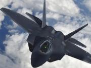 F-22 Mỹ nổ súng khi đụng độ chiến đấu cơ Nga ở Syria?