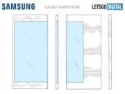 Samsung tung bản phác thảo Galaxy X màn hình gập quá đẹp