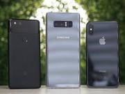 """iPhone X, Galaxy Note 8 và Pixel 2: Cái nào chụp chân dung  """" ngon """" ?"""