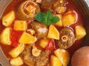 Cách làm đuôi bò hầm khoai tây đậm đà, ấm bụng ngày đông lạnh