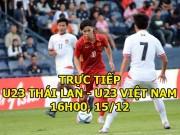 TRỰC TIẾP bóng đá U23 Thái Lan - U23 Việt Nam: Song tấu Công Phượng - Văn Toàn