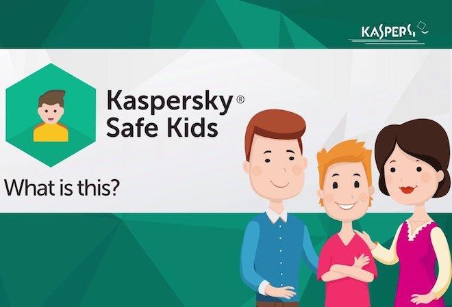 Kaspersky tung phần mềm khoanh vùng bảo vệ trẻ - 1
