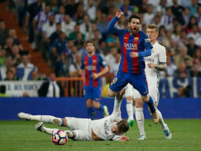 """Khoảnh khắc thiên tài Real – Barca: Messi khiêu vũ, khuất phục """"vua chặt chém"""""""