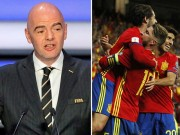 FIFA dọa đuổi Tây Ban Nha khỏi World Cup mời Italia: Bão tố nổi lên