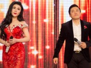 Uyên Trang buồn cười khi hát bolero với Lam Trường
