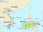 Bão Kai-tak giật cấp 10 tăng tốc, hướng vào Biển Đông