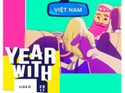 Năm 2017, người Việt gọi xe Uber nhiều nhất và ít nhất vào ngày nào?