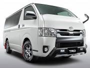 Toyota Hiace cũng có bản độ TRD