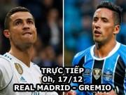 TRỰC TIẾP bóng đá Real Madrid - Gremio: Real coi chừng  Ronaldinho mới