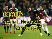 """TRỰC TIẾP bóng đá Arsenal - Newcastle:  """" Pháo thủ """"  quyết sửa sai"""