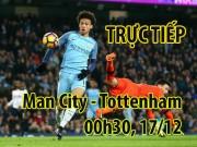 """TRỰC TIẾP bóng đá Man City - Tottenham: Spurs sẽ  """" xử đẹp """"  Man xanh"""
