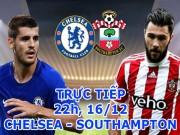 TRỰC TIẾP bóng đá Chelsea - Southampton: Conte chê Pep ăn may