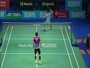 Cầu lông triệu đô: Kinh điển, Lee Chong Wei ra đòn ảo diệu như Federer