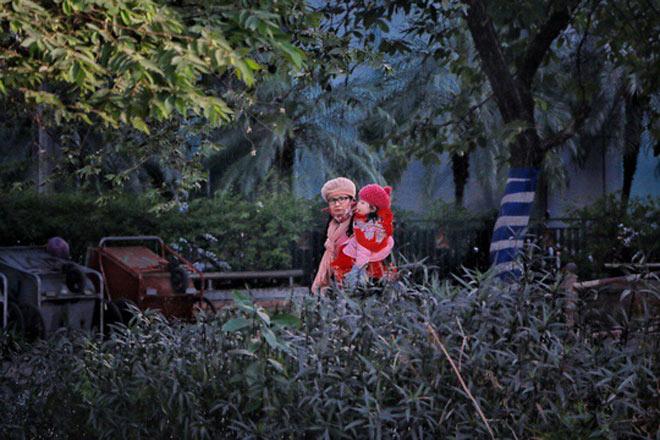 Người Hà Nội co ro trong đợt rét mạnh nhất từ đầu mùa - 17