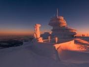 Ngây dại ngắm cảnh mùa đông đẹp ma mị ở Ba Lan