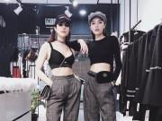 """Kỳ Duyên và  """" bom sexy Việt """"  diện đồ đôi, ai cũng phải ngỡ ngàng"""