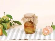 Cách ngâm chanh đào mật ong sánh vàng, ngon chuẩn trị ho cực hiệu quả