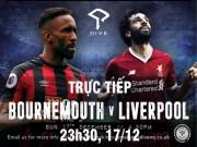 TRỰC TIẾP bóng đá Bournemouth - Liverpool: Mane dự bị, Salah sát cánh Coutinho