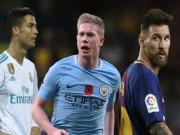 Man City: De Bruyne vượt Neymar đấu Bóng vàng với Ronaldo - Messi