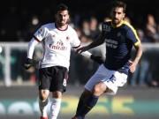 """Hellas Verona - Milan: Sấp mặt vì 3 """"cú đấm"""""""