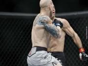 Siêu phẩm UFC:  Đầu gấu  ăn đòn, nằm im như thóc