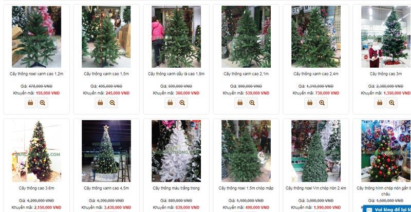 Cận kề Giáng sinh, cây thông Noel loạn giá - 6