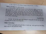 """Đề thi học kỳ I tại TP.HCM:  Mở  cũng tốt nhưng đừng  """" đánh đố """"  học sinh"""