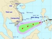 Bão Kai-tak chính thức vào Biển Đông, trở thành cơn bão số 15 trong năm 2017