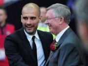 """Man City  """" thưởng """"  Pep 100 triệu bảng: Xây đế chế như MU - Sir Alex"""