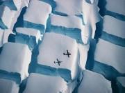 """Đi tìm lời giải hiện tượng những  """" viên đường """"  bằng băng khổng lồ ở Nam Cực"""
