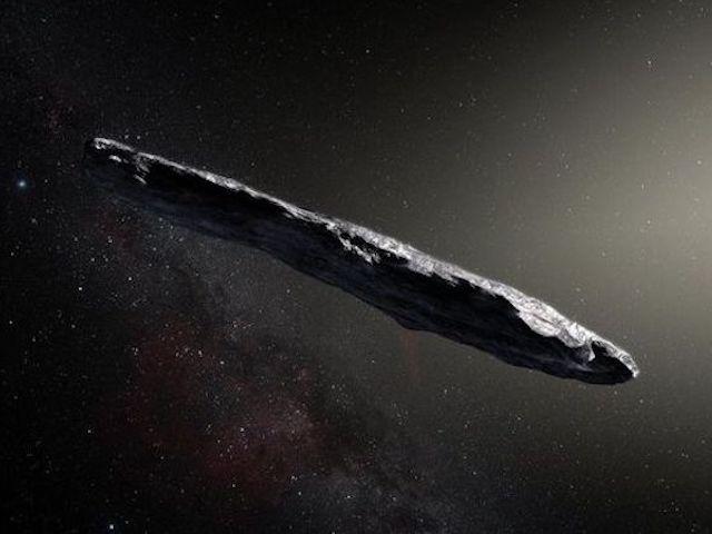 """""""Lớp áo"""" bí ẩn của thiên thể giống tàu vũ trụ ngoài hành tinh"""
