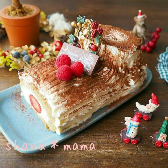 Cách làm bánh khúc cây đẹp mê ly đón Giáng sinh - 16