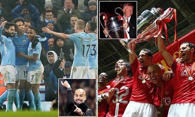 MU 2008 - Ronaldo và Man City 2017 - De Bruyne: Ai hùng bá hơn? - 1