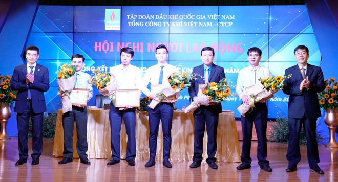PV GAS chào mừng thắng lợi năm 2017 - 2